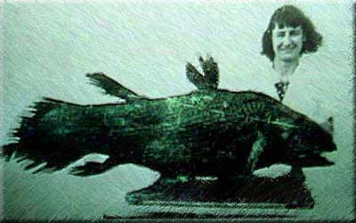 Marjorie Courtenay-Latimer and Coelacanth